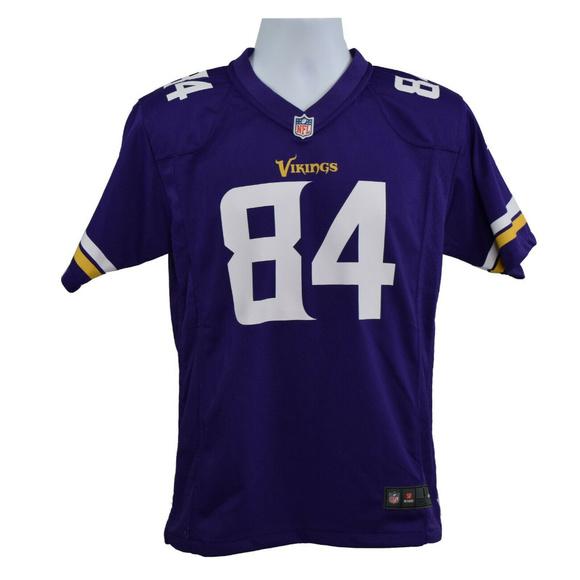 finest selection e1bbf a3da2 NFL Youth Minnesota Vikings Patterson #84 Jersey